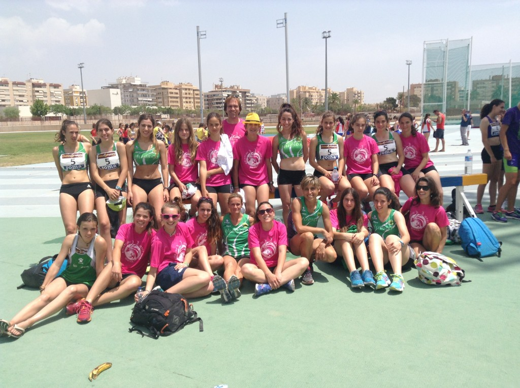 Equipo femenino 2ª división